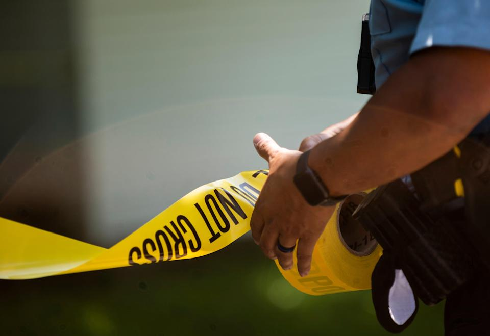 <p>Representative Image: A three-year-old girl was accidentally shot by an arrow that flew in from her neighbour's backyard in Alabama</p> (Photo by Stephen Maturen/Getty Images)