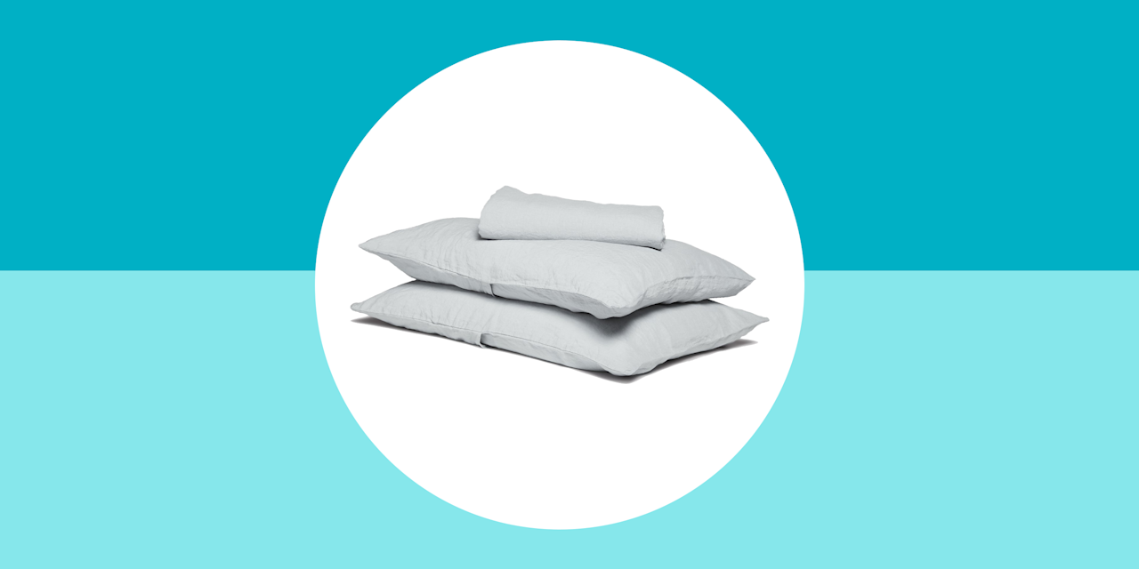 These Cooling Linen Sheets Will Give You the Best Sleep of ...