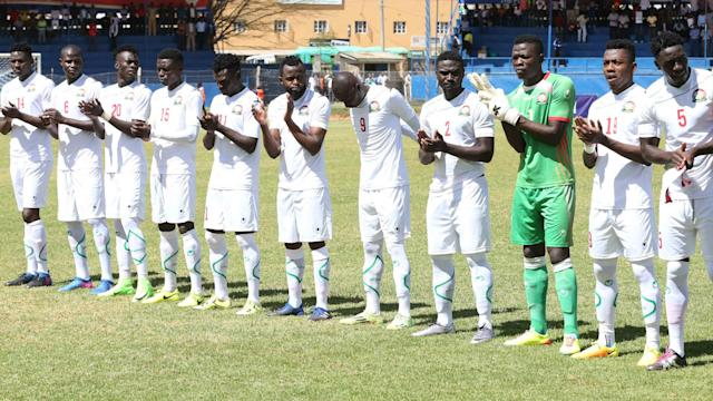 Harambee Stars have not moved from their previous position in Fifa rankings