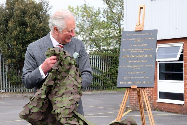 Prince of Wales visit to Wales