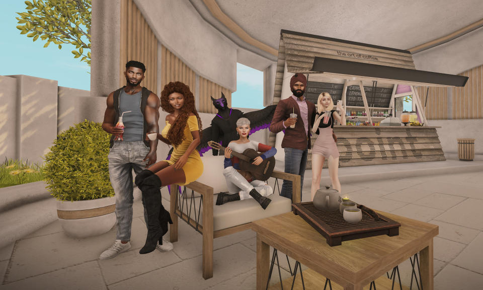 'Second Life' is a kind of early metaverse where you create an avatar and live your life as you want. (Image: Linden Lab)