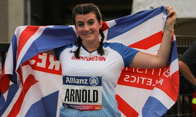 Arnold's gold was Great Britain's first in the field in Berlin. Pic: Ben Booth Photography