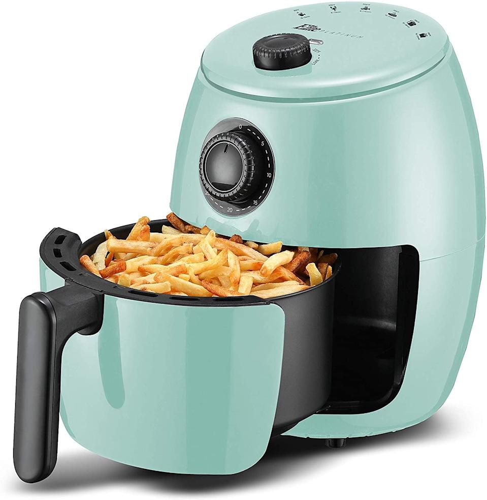 <p>Air fryers are all the rage right now, so get this <span>Elite Gourmet Electric Air Fryer</span> ($48).</p>
