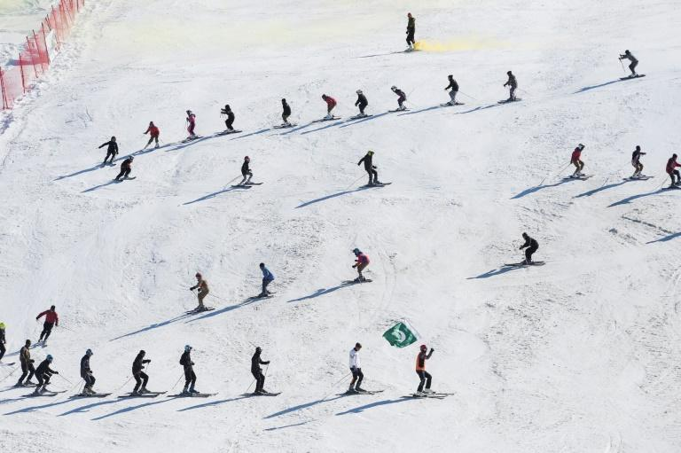 The ski season was brought to an abrupt end last month