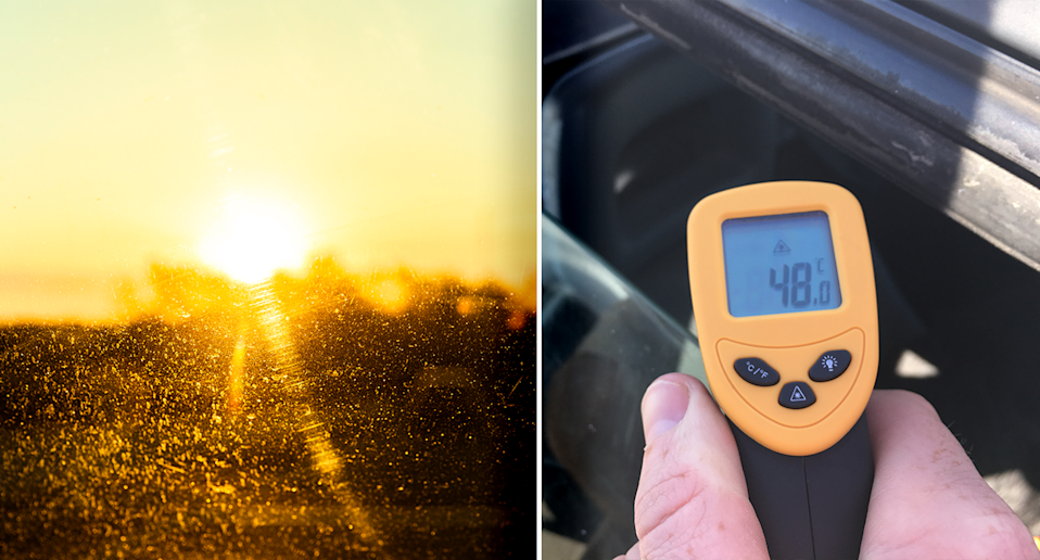 Testing has shown that even during mild weather, temperatures can soar inside cars. Source: Getty / RSPCA SA