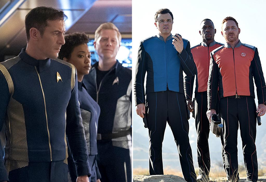 """<p></p><p>One of the biggest debates going on in fandom right now involves which <i>Star Trek </i>is true<i> Trek</i>; the official prequel series, <i>Discovery</i>, or Seth MacFarlane's <i>Next Generation </i>homage, <i>The Orville</i>. Set roughly a decade before Kirk and Spock boldly explored the final frontier, <i>Discovery </i>has taken the franchise in compelling, if controversial new directions in the first half of its freshman season, with darker storylines and its most morally complex captain (played by Jason Isaacs). <i>The Orville</i>, on the other hand, keeps things in a lighter vein while also developing its own distinct mythology over the course of its maiden voyage. Remember: It's always best to sample both flavors before deciding which you prefer. <em>— E.A.</em><br /><br /><i>Available to stream: <a rel=""""nofollow"""" href=""""https://www.youtube.com/watch?v=hC7IMj7WFyE"""">CBS All Access</a>, <a rel=""""nofollow"""" href=""""https://view.yahoo.com/search?query=orville"""">Hulu</a></i><br /><br />(Photo: CBS/20th Century Fox) </p><p></p>"""