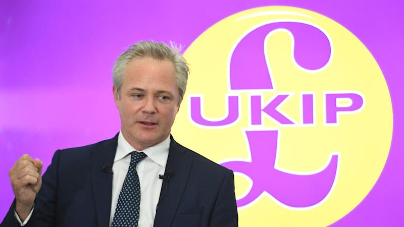 New Ukip leader claims media is controlled by 'traitor class' over Brexit