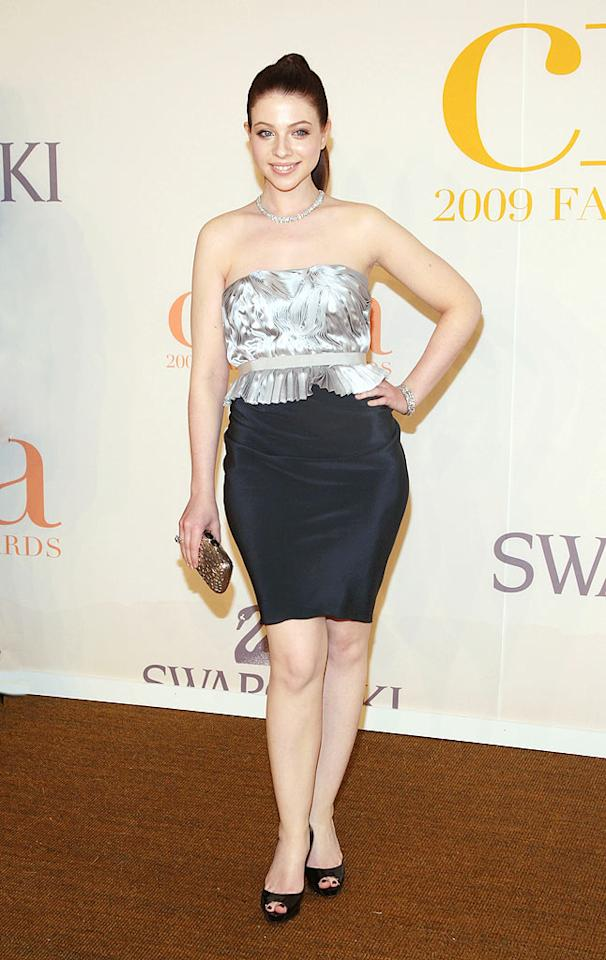"Michelle Trachtenberg looked downright frumpy in this unflattering ensemble by Behnaz Sarafpour. Stephen Lovekin/<a href=""http://www.gettyimages.com/"" target=""new"">GettyImages.com</a> - June 15, 2009"