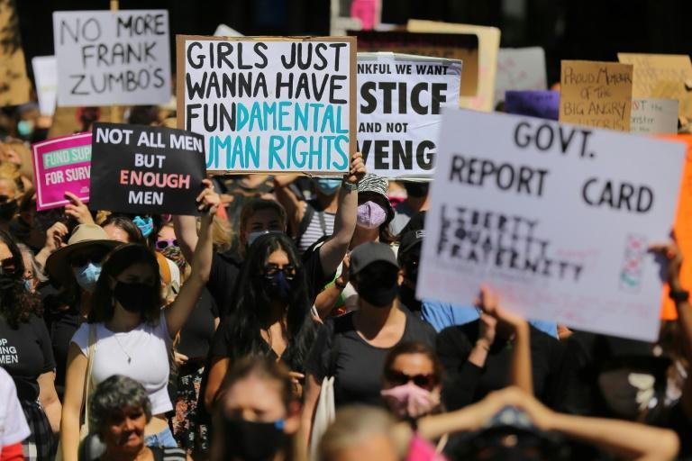 """""""These events have triggered, right across this building and indeed right across the country, women who have put up with this rubbish and this crap for their entire lives, as their mothers did, as their grandmothers did,"""" the PM said"""