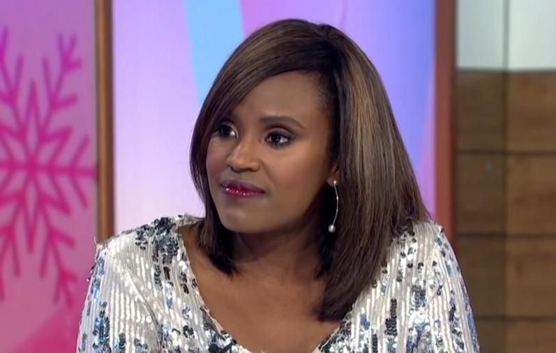 Kelle Bryan on 'Loose Women' (ITV)