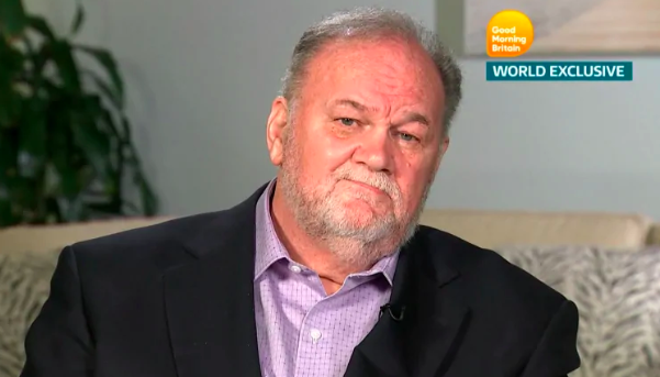 Wendell Pierce who plays Meghan's father on Suits has sent a message to Thomas Markle Sr. Source ITVMore