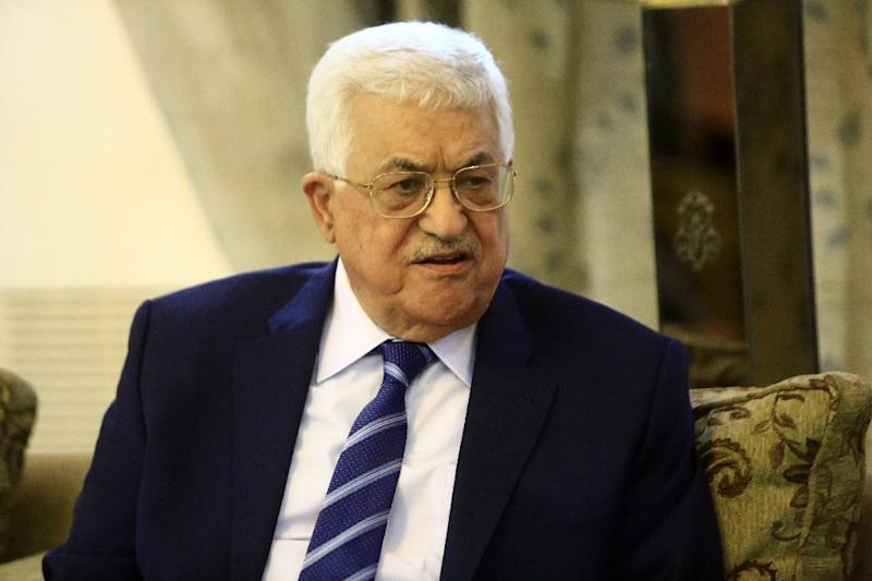 Palestinian leader Mahmud Abbas has maintained that he has no intention of stepping down anytime soon, despite a recent hospitalisation for a heart test (AFP Photo/Ashraf Shazly)