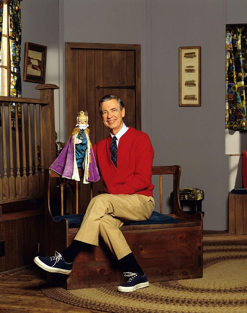 """<p>Bring cheer to the Halloween party by dressing as everyone's childhood hero, Mister Rogers. It's seriously simple to pull off: Pair any red cardigan with tan slacks. </p><p><a class=""""link rapid-noclick-resp"""" href=""""https://www.amazon.com/Deluxe-Gray-Old-Man-Wig/dp/B077NMYCCK/?tag=syn-yahoo-20&ascsubtag=%5Bartid%7C10055.g.28089320%5Bsrc%7Cyahoo-us"""" rel=""""nofollow noopener"""" target=""""_blank"""" data-ylk=""""slk:SHOP GRAY WIG"""">SHOP GRAY WIG</a></p>"""
