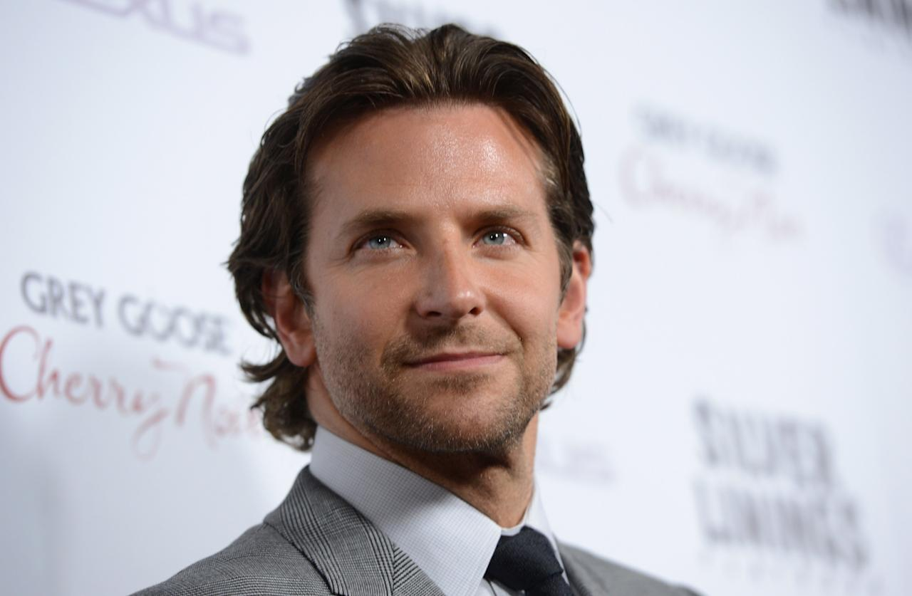 """BEVERLY HILLS, CA - NOVEMBER 19:  Actor Bradley Cooper attends a screening of The Weinstein Company's """"Silver Linings Playbook"""" at the Academy of Motion Picture Arts and Sciences on November 19, 2012 in Beverly Hills, California.  (Photo by Kevin Winter/Getty Images)"""