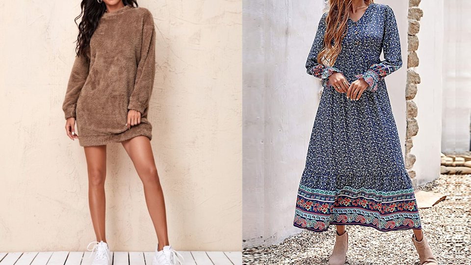 10 casual fall dresses under $50