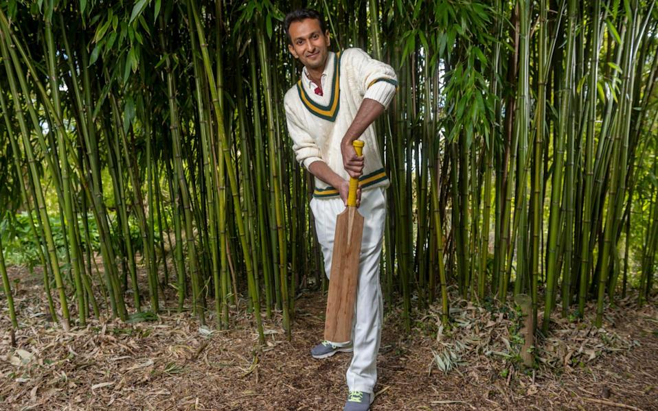 Dr Darshil Shah says it is a 'batsman's dream' - Paul Grover for The Telegraph