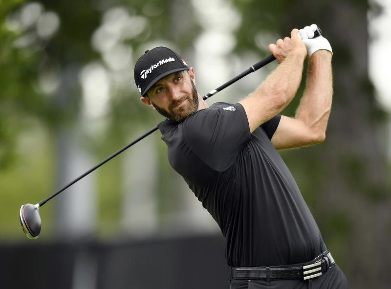 Dustin Johnson had arthroscopic surgery to repair cartilage in his left knee on Thursday morning.