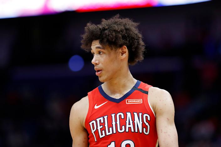 Pelicans Jaxson Hayes Arrest Basketball (Copyright 2020 The Associated Press. All rights reserved.)