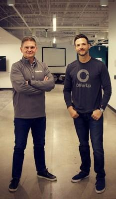 Incoming OfferUp CEO Todd Dunlap and OfferUp Co-Founder and Chief Product Officer Nick Nuzar