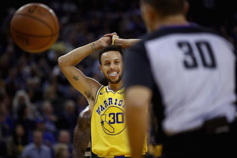 Golden State's Stephen Curry (ankle) out at least the next five games