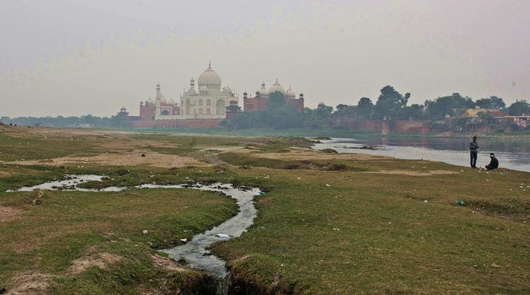 Donald Trump India visit, Agra Donald Trump Taj Mahal, Yamuna smell Agra, Taj Mahal Donald Trump, indian express