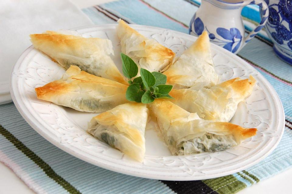 <p>Feta and spinach are the keys to my heart.</p>