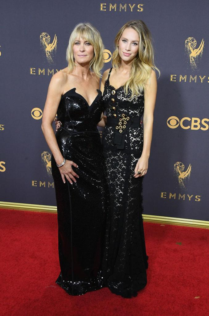 Good genes run in the family for Wright and her daughter with ex-husband, Sean Penn. <em>(Image via Getty Images)</em>