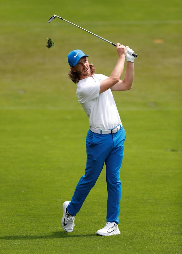 Golf - European Tour - BMW PGA Championship - Wentworth Club, Virginia Water, Britain - May 26, 2018 England's Tommy Fleetwood during the third round Action Images via Reuters/Paul Childs