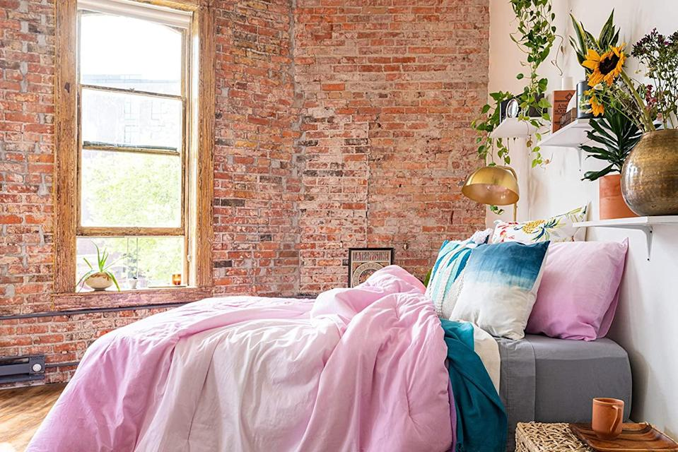 """<br><br><strong>Refinery29</strong> Emerie Bedding Collection Reversible Comforter, $, available at <a href=""""https://amzn.to/36C0kz0"""" rel=""""nofollow noopener"""" target=""""_blank"""" data-ylk=""""slk:Amazon"""" class=""""link rapid-noclick-resp"""">Amazon</a>"""