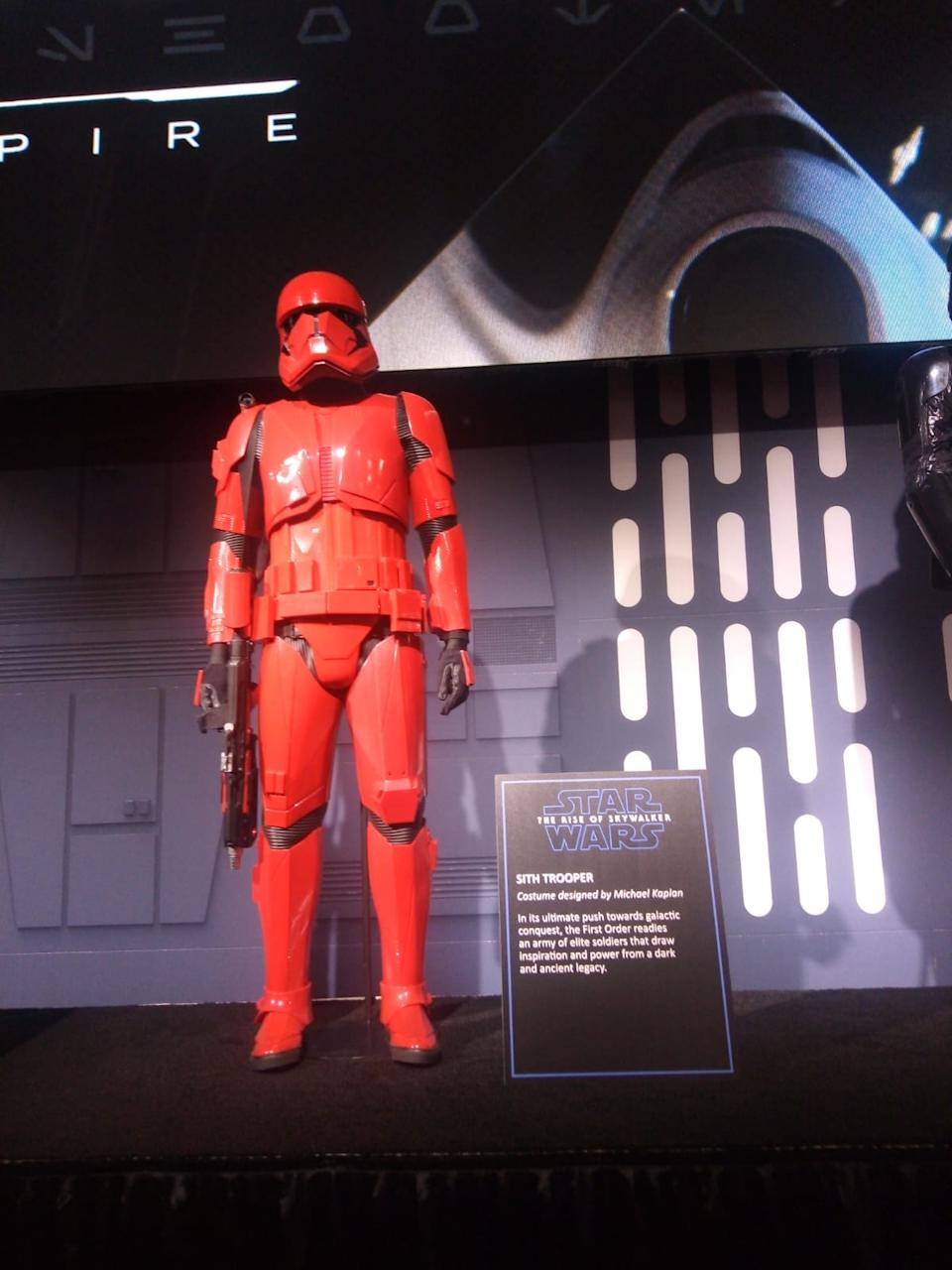 The Sith Trooper will debut in The Rise Of Skywalker