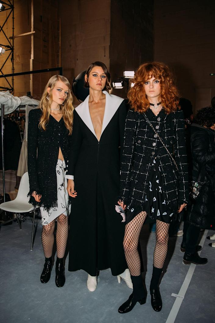 The Best Behind-the-Scenes Photos From Chanel's Cruise 2022 Show in the South of France