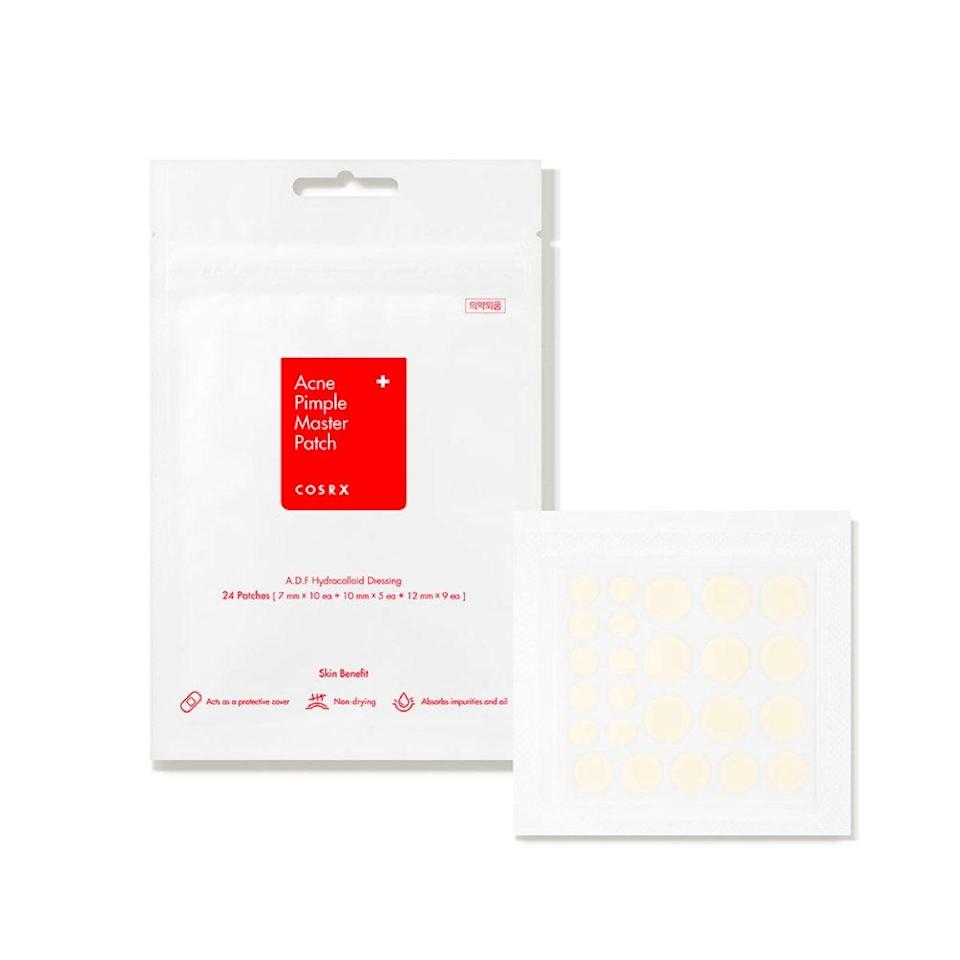 """Okay, sure, the discount here is not significant, but it may be worth grabbing several packs to have on hand to fight maskne and stress breakouts. Bonus, these patches are thin enough to wear on Zoom calls without anyone knowing. $6, Dermstore. <a href=""""https://shop-links.co/1715126715485582388"""" rel=""""nofollow noopener"""" target=""""_blank"""" data-ylk=""""slk:Get it now!"""" class=""""link rapid-noclick-resp"""">Get it now!</a>"""
