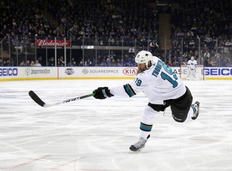 Thornton to divide time between playing in Europe and NHL
