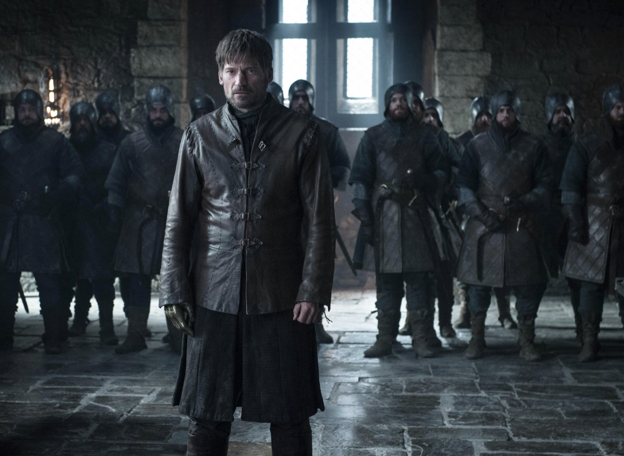 <p>Jaime Lannister answers for his sins at Winterfell. Will he be forgiven for slaying a king, or pushing Bran out of that window?</p>