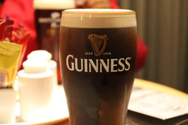 Guiness and craic make for a very Irish experience