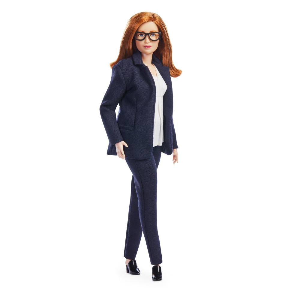 Barbie doll inspired by Dame Sarah Gilbert