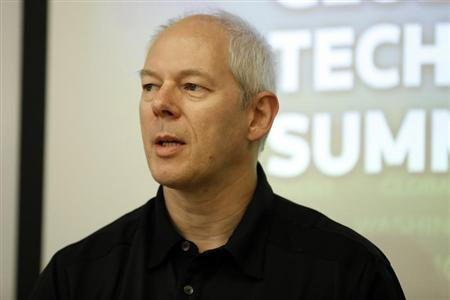 Adrian Cockcroft speaks during Reuters Global Technology Summit in San Francisco