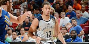 Seth Curry scored well for New Orleans in the NBA's summer league.