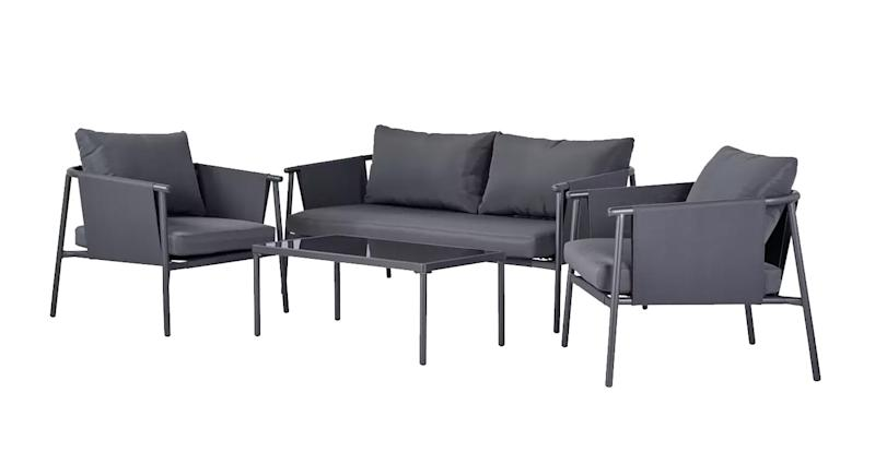 Komoe Steel Sofa Set