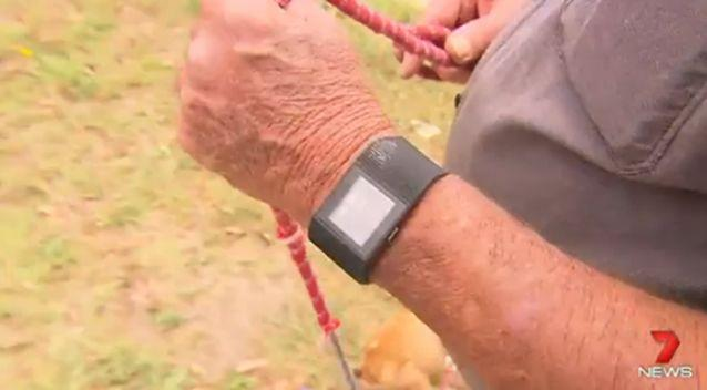 The Fitbit saved Mick's life. Photo: 7 News