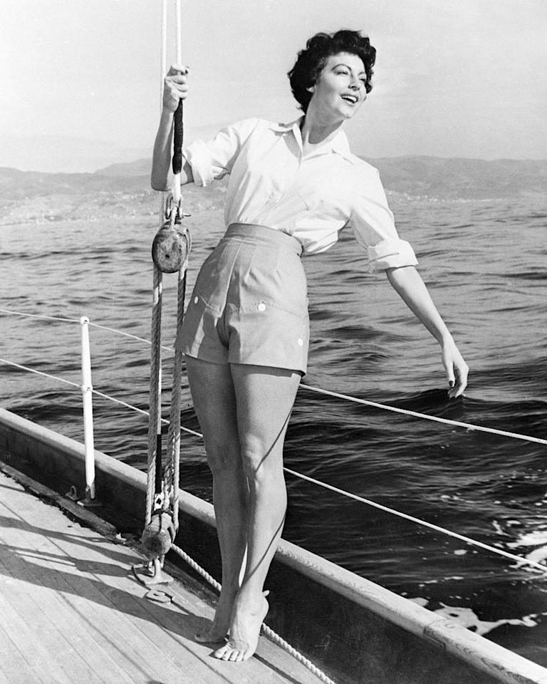 <p>Nothing is more freeing than the feeling of the wind blowing through your hair as you float along the water in a sailboat. <em>CR </em>rounded up the chicest photos of our favorite vintage icons taking a nautical jaunt on the high seas. </p>