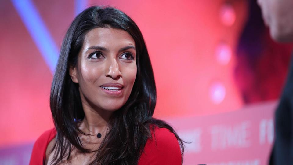 Samasource and LXMI CEO and founder Leila Janah. Source: Fortune Live Media