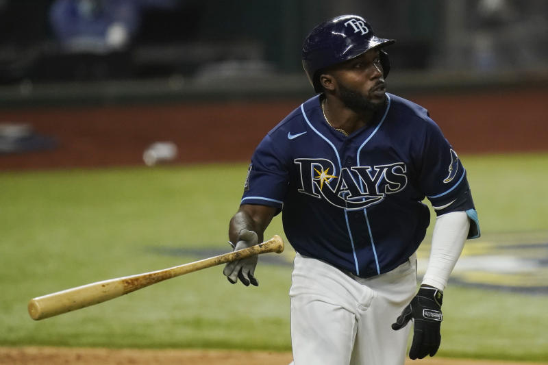 World Series: Rays' Randy Arozarena sets playoff HR record