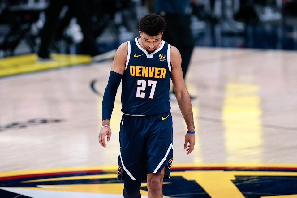 Jamal Murray is out indefinitely after suffering a torn ACL in his left knee.