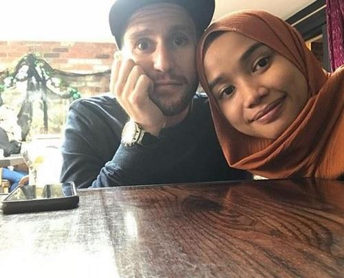 Mat Dan and his lovely missus