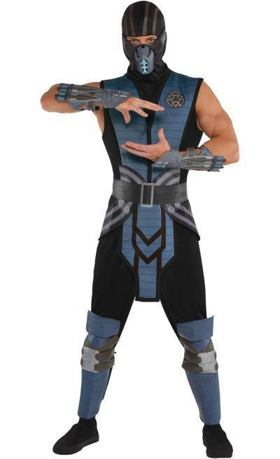 """<p>partycity.com</p><p><strong>$39.99</strong></p><p><a href=""""https://www.partycity.com/adult-sub-zero-costume---mortal-kombat-P688258.html?dwvar_P688258_size=S&cgid=group-costumes-tv-movie"""" rel=""""nofollow noopener"""" target=""""_blank"""" data-ylk=""""slk:Shop Now"""" class=""""link rapid-noclick-resp"""">Shop Now</a></p><p>The movie was okay. The costume will never get old.</p>"""
