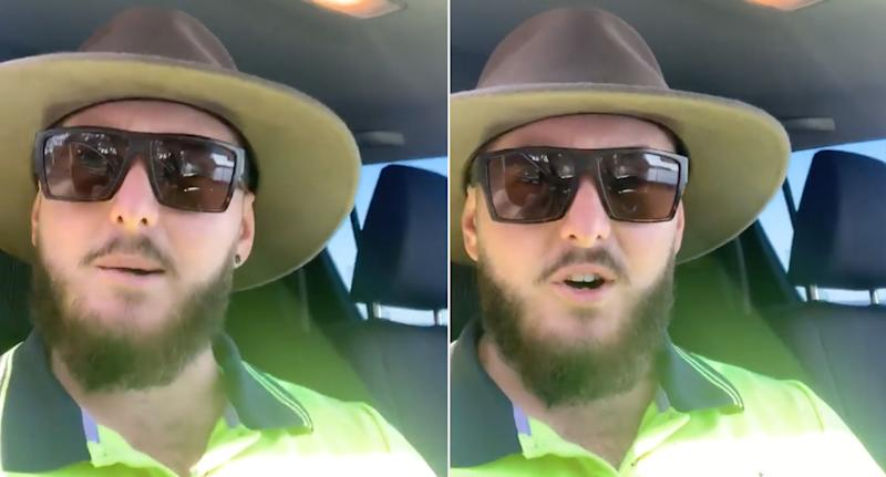 Jack Nile, from the NSW South Coast, posted a powerful video about mental health on his business's Facebook page.