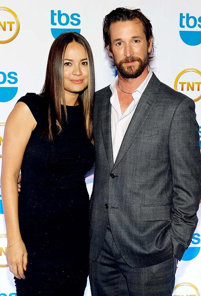 """In 2011, TNT will debut a series from Steven Spielberg starring former """"ER"""" doc Noah Wyle and """"Terminator Salvation"""" hottie Moon Bloodgood called """"Fallen Skies."""" Mark Von Holden/<a href=""""http://www.wireimage.com"""" target=""""new"""">WireImage.com</a> - May 19, 2010"""