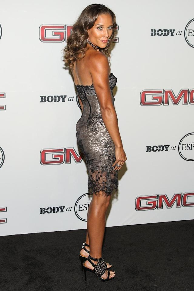 Track and field athlete Lolo Jones at the Body at ESPYS Party sponsored by Hennessy V.S on July 16, 2013 at Lure in Los Angeles, CA. (Photo by Paul A. Hebert/Invision for Hennessy/AP Images)