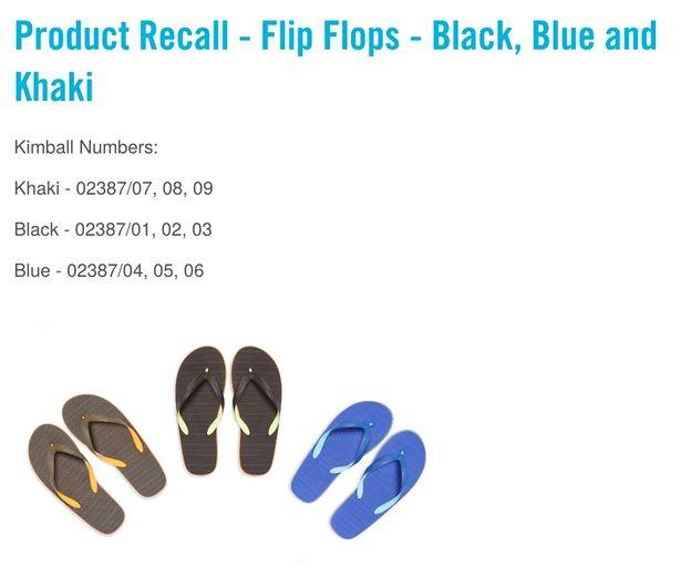 The product recall from Primark (Primark)